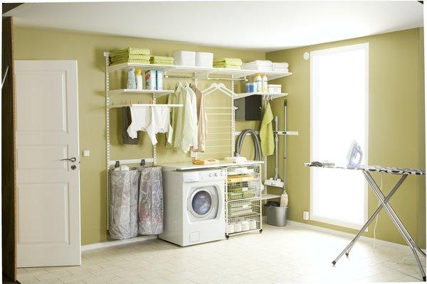 regalsystem metall regal f r keller elfa regalsystem. Black Bedroom Furniture Sets. Home Design Ideas